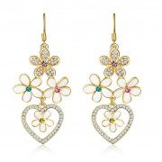 American Diamond High Quality Fashion Earrings American Diamond Artificial Earrings online