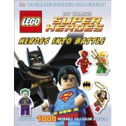 Ultimate Sticker Collection: Lego DC Comics Super Heroes: Heroes Into Battle, Paperback
