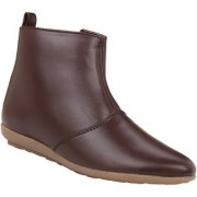 Exotique Womens Brown Casual Boots(EL0030BR)