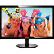 "Monitor 24"" PHILIPS 246V5LSB, FHD 1920*1080, TN, WLED, 16:9, 5 ms, 250 cd/m2, 10M:1/ 1000:1, 170/160, VGA, DVI, Kensington lock, VESA, black"