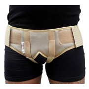 Wonder Care-Inguinal Hernia Support belt Brace with two pressure pads, Large