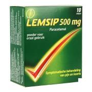 Lemsip lemon 500mg