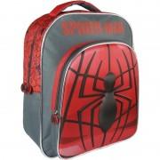 Marvel Zwart/rode Marvel Spiderman rugzakken/rugtassen 30 x 41 cm reistas voor jongens/kinderen