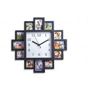 12 Multi Aperture Photo Frame Clock