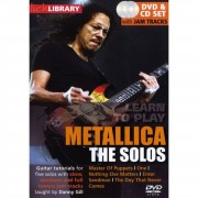 Roadrock International Lick Library - Metallica The Solos, DVD and CD