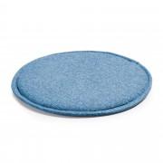 Kave Home Almofada Silke azul escuro