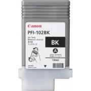 Cartr. Canon PFI-102BK black, za Canon IPF 500/510/600/605/610/700/710 130ml