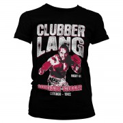 Tee Rocky - Clubber Lang Girly Tee