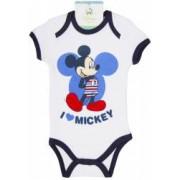 Body bebelusi Mickey Mouse alb baieti 71 cm