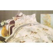Lenjerie de pat pentru 2 persoane cu 4 piese Casa M-85