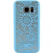 Husa Capac Spate Spirit Natural Albastru Samsung Galaxy S7 YUPPI LOVE TECH