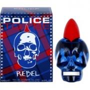Police To Be Rebel Eau de Toilette para homens 125 ml