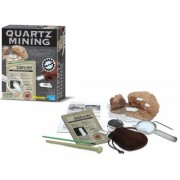 Crystal Quartz Mining Excavation Science Kit (quartz crystals geology science kit).