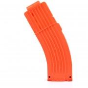 Clips De Bala Suaves 15 Balas Para Nerf N-strike Pistola Juguete - Naranja