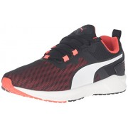 PUMA Men's Ignite Xt v2 Cross-Trainer Shoe, Puma Black/Red Blast, 11 M US