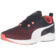PUMA Men's Ignite Xt v2 Cross-Trainer Shoe, Puma Black/Red Blast, 11 M US