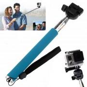 Maxy Asta Selfie Estensibile St-55 Per Action Cam Blu Per Modelli A Marchio