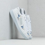 Kenzo Tennix Sneakers Flowers E White