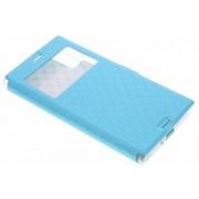 Blauw Rhombus hoesje voor de Sony Xperia XZ / XZs
