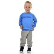 Adidas Fiú Fiú Melegítő/Jogging I LIN JOGG FL REABLU/MGREYH/BLUE EI7963