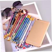 EW sacapuntas de lápiz delineador de labios con dos dispositivos de la pluma 12 (# 27-38)-multicolor