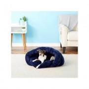 PLS Birdsong Cuddle Pouch Hooded Pet Bed, Blue, Medium