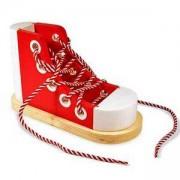 Дървена обувка с връзки, 13018 Melissa and Doug, 000772130189