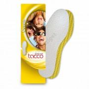 Nedvszívó kényelmi talpbetét, pamut-frottír, fehér, Tacco Ocean 637, 29-30