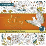 Jesus Calling Adult Coloring Book: Creative Coloring and Hand Lettering, Paperback