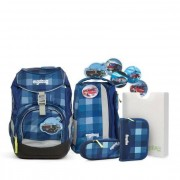 ergobag Pack zaino scuola con accessorio set di 5tlg. con Kletties 40 cm