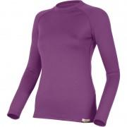 Вълнена термо блуза Atila - лилава