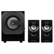 Acteck Bocinas con Subwoofer, Bluetooth 9W RMS USB Negro AC-926713