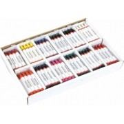 Set 144 creioane de ceara in culori asortate - Heutink