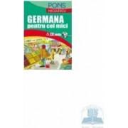 Germana pentru cei mici + CD Audio Pons