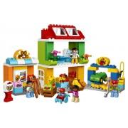 LEGO® DUPLO® Town Piata mare a orasului - L10836
