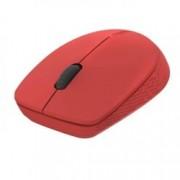 Мишка Rapoo M100 Silent, безжична (Bluetooth 4.0), оптична(1300dpi), USB, червена