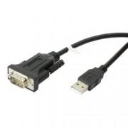 Convertitore Adattatore Techly da USB 2.0 a Seriale Nero
