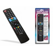 5-in-1 Replacement IR Remote Control for Samsung, LG, Sony, Philips and Panasonic HDTV