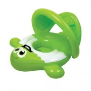 Aquafun Baby Rider - Green Guppie - Swimming Pool Toy / Float