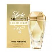 Paco Rabanne Lady Million Eau My Gold! 80Ml Per Donna Senza Confezione(Eau De Toilette)