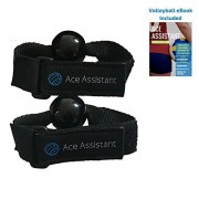 Ace Assistant Volleyball Setter Training Equipment to Practice Setting Drills | Hand Straps are Great Aids for Solo or Team Practice | Rapidly Improve Your Volley Ball Set Skills