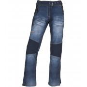 KILPI Dámské softshellové kalhoty JEANSO-W JL0023KIBLU Modrá 44