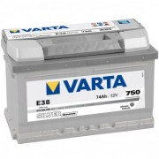 Baterie VARTA Silver Dynamic 12V 74Ah 750A