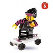 Lego Collectable Minifigures: Skater Girl Minifigure (Series Six)