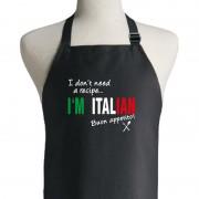 I Don't Need A Recipe I'm Italian Apron