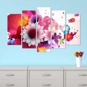 Декоративeн панел за стена с флорални мотиви Vivid Home