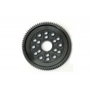 Kimbrough KP147 84T 48dp Spur Gear. With 1/8th diff ball holes