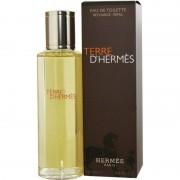 Hermes terre d'hermes 125 ml eau de toilette edt ricarica profumo uomo