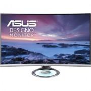 "Монитор ASUS Designo Curve MX32VQ 32"" 2560x1440 1800R Curvature, Frameless, Halo Lighting Base, Audio by Harman Kardon, Fli"