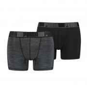 Puma 2-pack boxershorts Active Grizzly melange grey